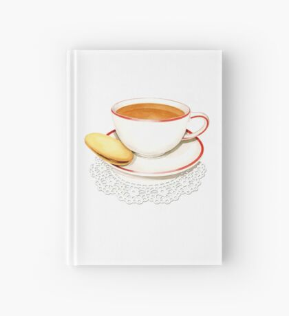 Cup of Tea and a biscuit! Hardcover Journal