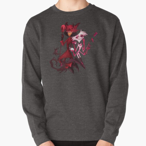 Alastor and Angel (Transparent Version) Pullover Sweatshirt