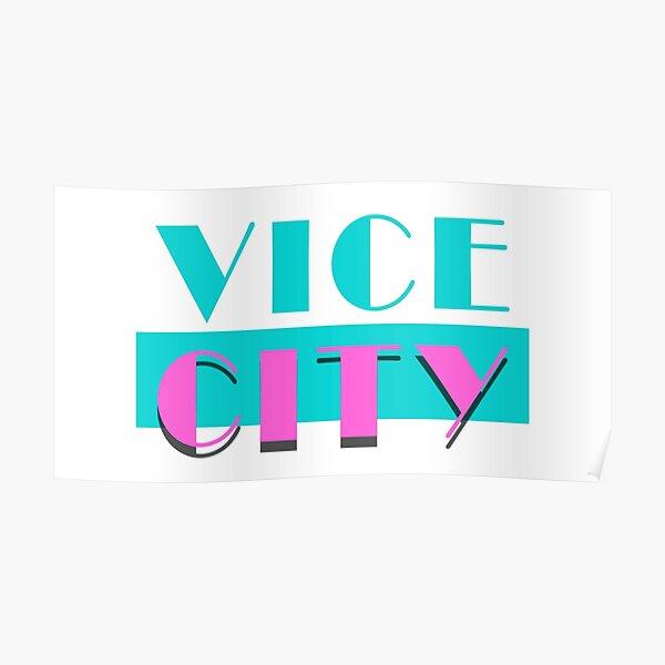 Cité du vice Poster