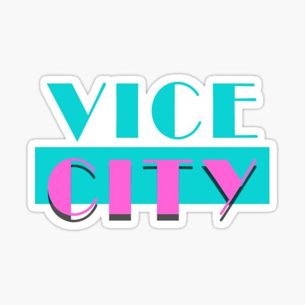Cité du vice Sticker