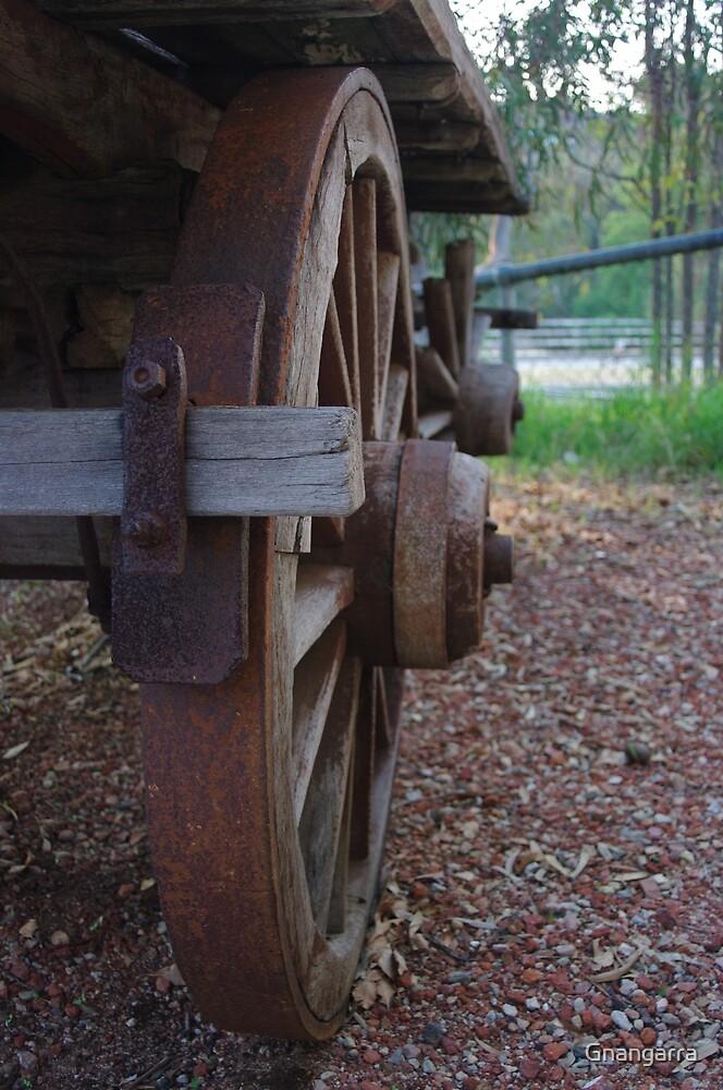 Wagon wheel by Gnangarra