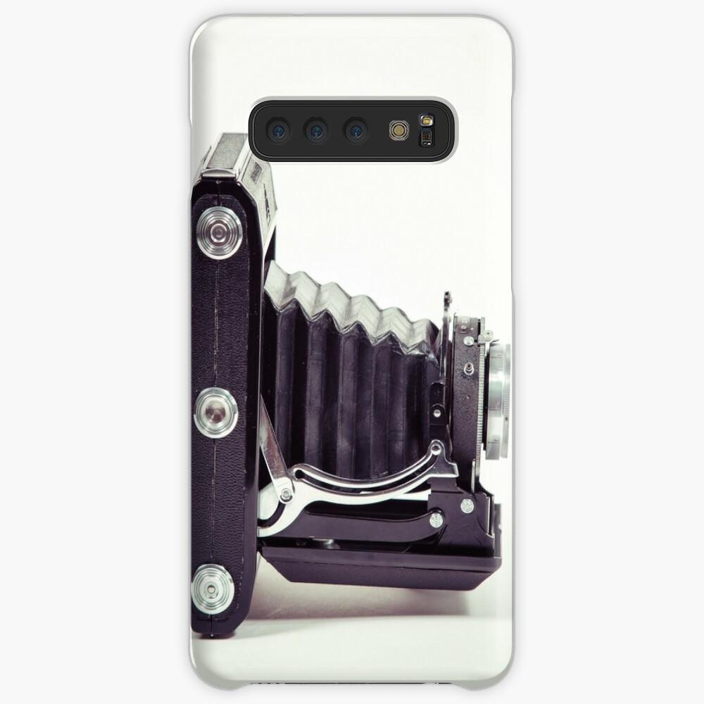 Fotografie - alte analoge Kamera von der Seite Hülle & Klebefolie für Samsung Galaxy