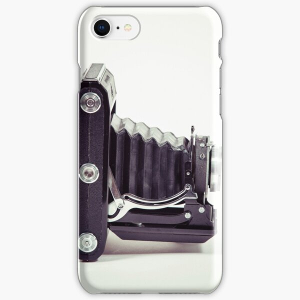 Fotografie - alte analoge Kamera von der Seite iPhone Leichte Hülle