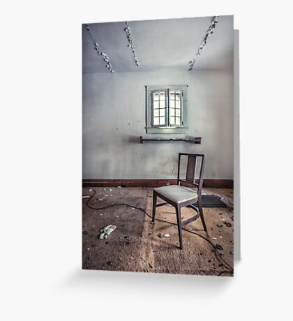 A Room For Thought Greeting Card