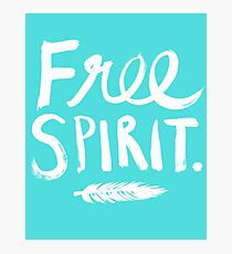Free Spirit Photographic Print