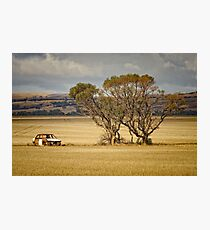 Dumped in a field Photographic Print