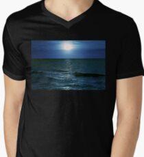 Ostsee T-Shirt mit V-Ausschnitt für Männer