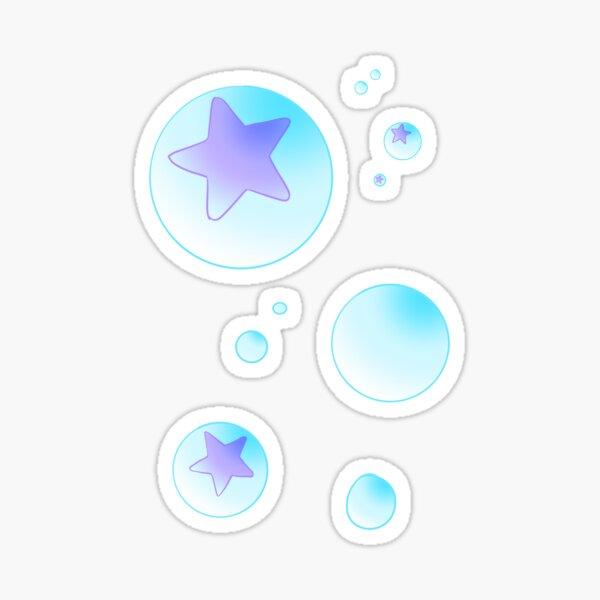 """""""soft"""" bubbles Sticker"""