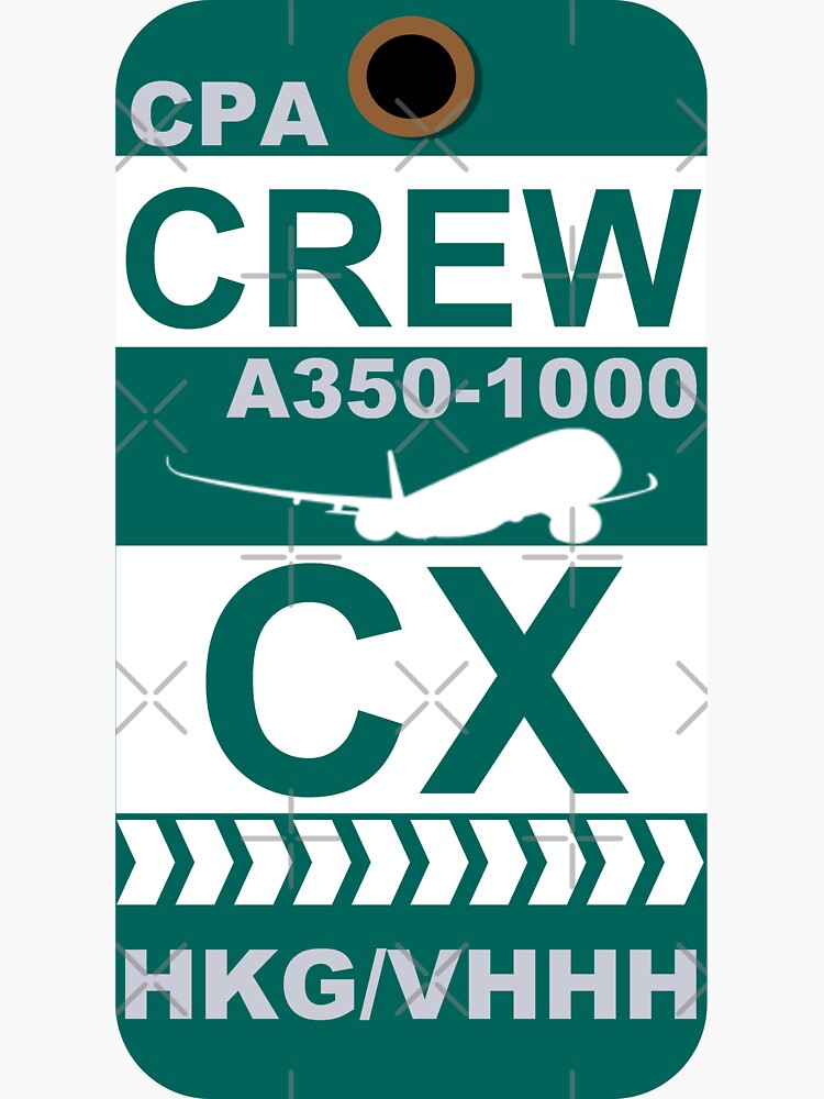 CX Airbus A350-1000 Crew Hong Kong by AvGeekCentral