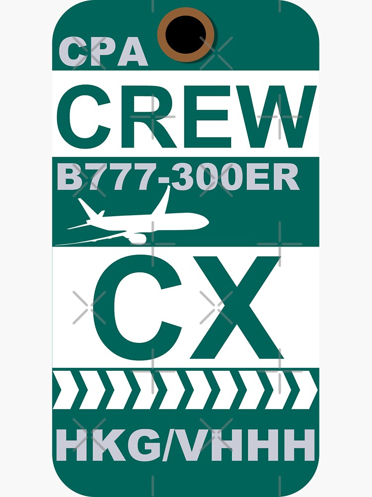 CX Boeing 777-300ER Crew Hong Kong by AvGeekCentral