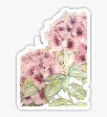 Graceful Blooms - Watercolor Sticker