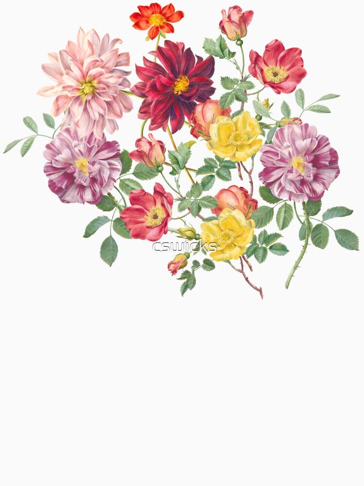 Vintage Flowers by cswicks