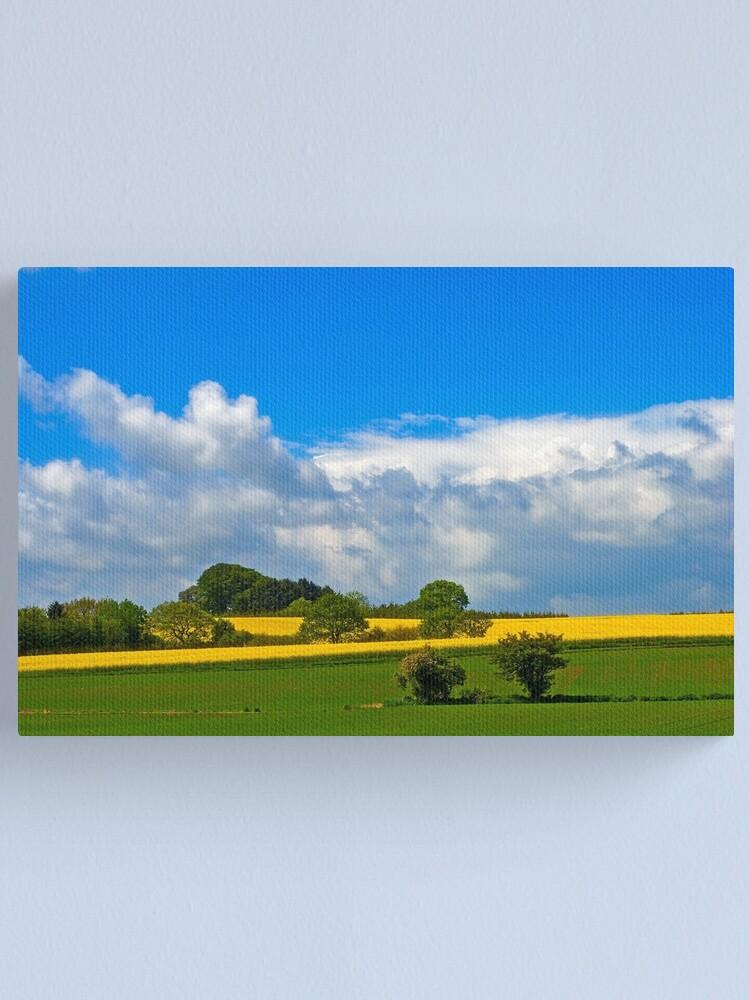 Alternate view of Summer fields 1 Canvas Print