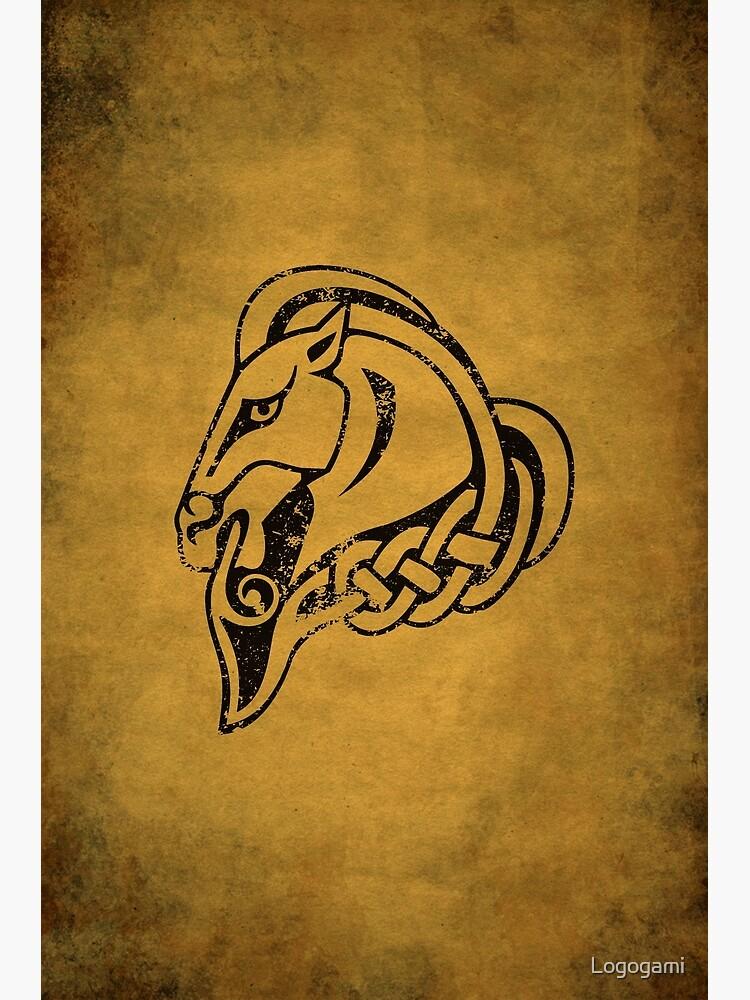 Whiterun Logo · Distressed by Logogami