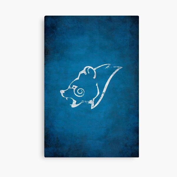 Windhelm Logo · Distressed Canvas Print