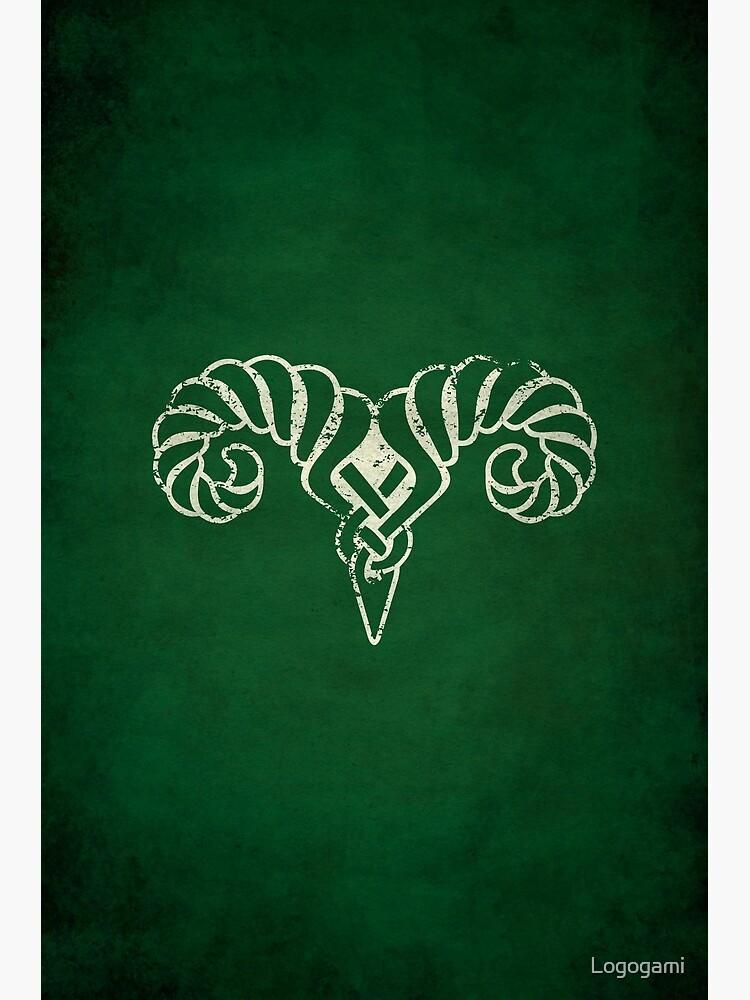Markarth Logo · Distressed by Logogami