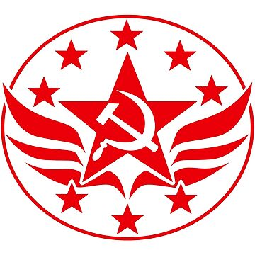 Soviet Hammer and Sickle Emblem by NeoFaction