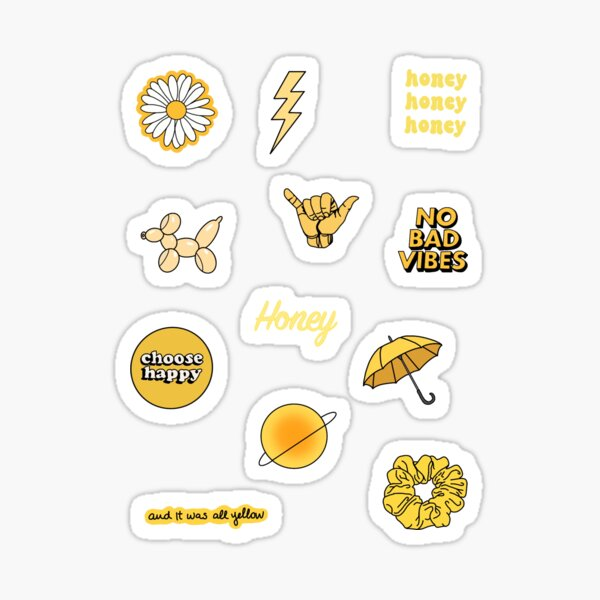 Geeky and Kinky Sticker Pack Set of 6 Stickers