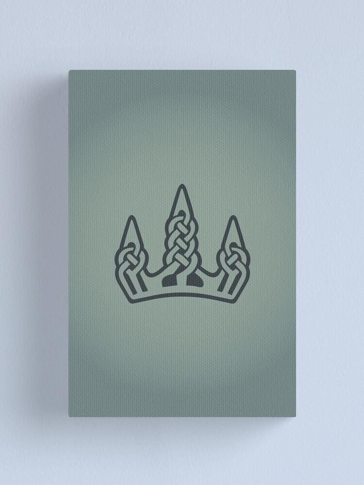 Alternate view of Winterhold Logo Canvas Print