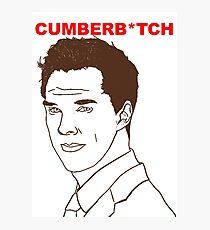 Cumberb*tch Photographic Print