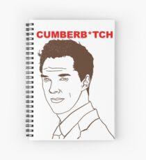 Cumberb*tch Spiral Notebook