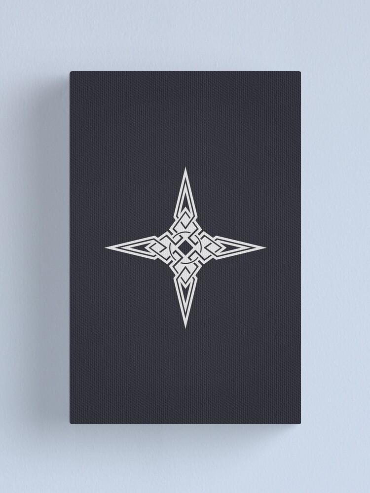 Alternate view of Dawnstar Logo Canvas Print