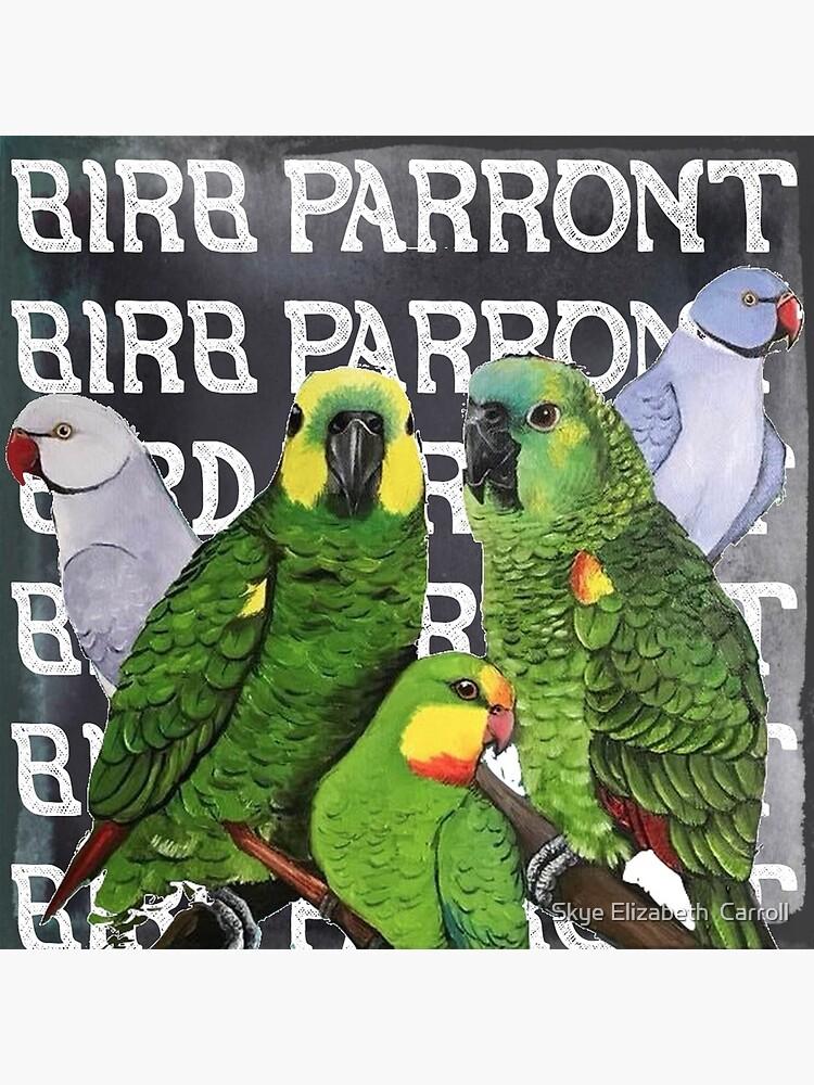 BIRB PARRONT by SkyeElizabeth