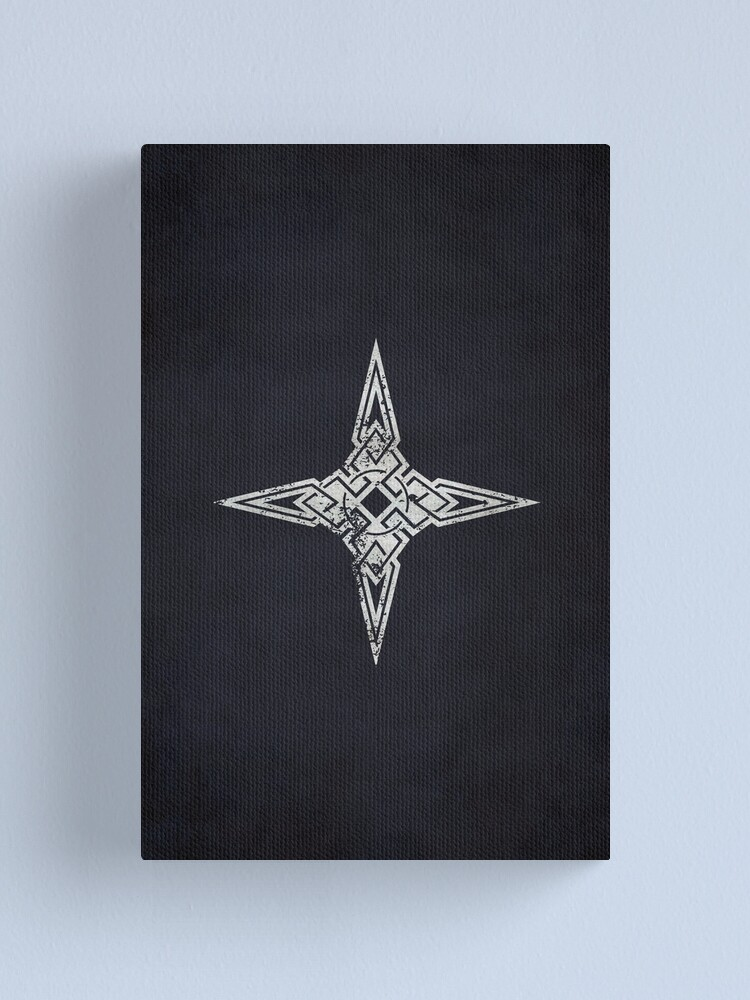 Alternate view of Dawnstar Logo · Distressed Canvas Print