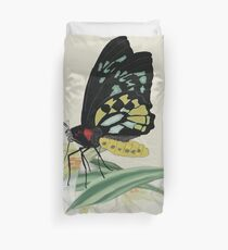 Butterly on Lily Duvet Cover