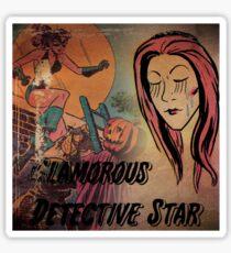 Glamorous Detective Star Sticker
