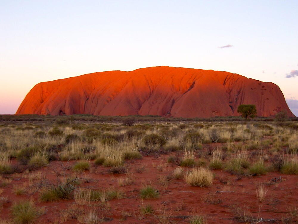 Uluru - Ayers Rock by Rhapsody
