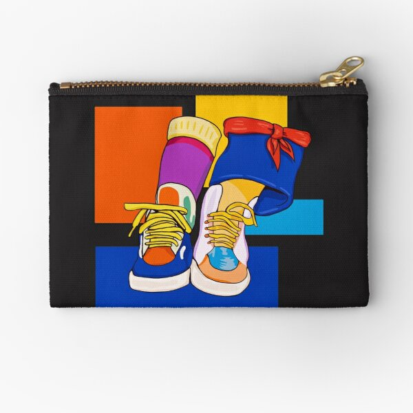 Punky Brewster shoes and socks Zipper Pouch