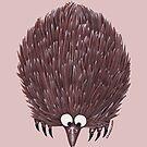 Echidna Pink by Lou Van Loon