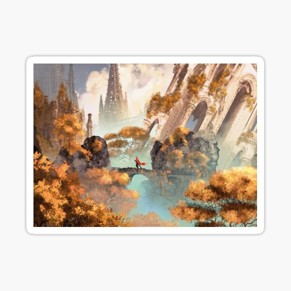 The king's journey : Forgotten garden Sticker