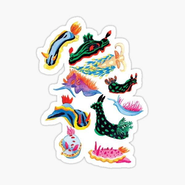 Mini Nudibranchs Sticker