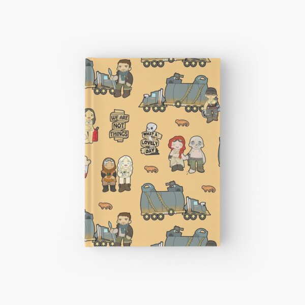 Across the Wasteland (in Sand) Hardcover Journal