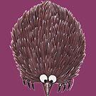 Echidna Purple by Lou Van Loon
