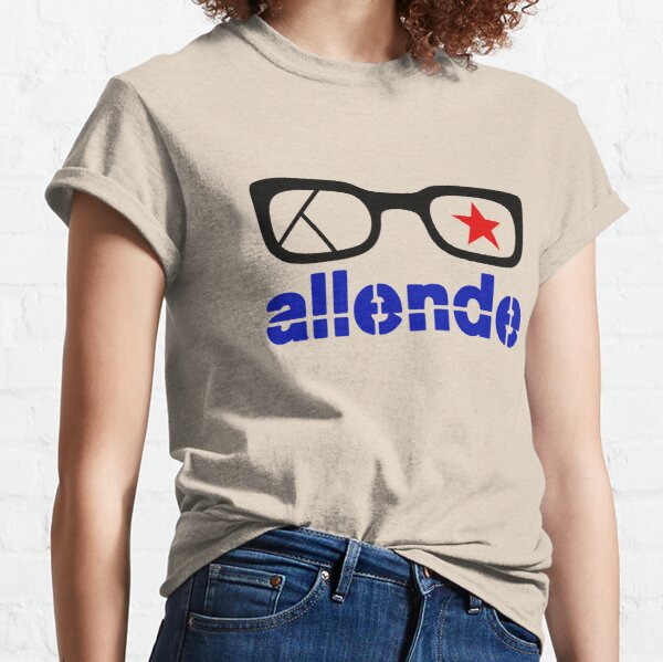 Salvador Allende Chile Venceremos Socialism Guevara T-Shirt all Sizes