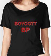 'Boycott BP' Women's Relaxed Fit T-Shirt