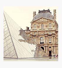 le louvre, paris Photographic Print