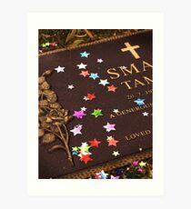 Stars on Tammy Art Print