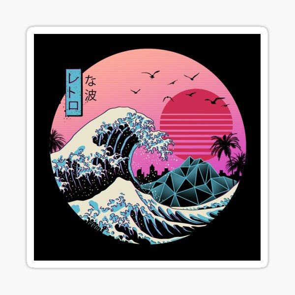 The Great Retro Wave Sticker