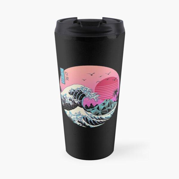 The Great Retro Wave Travel Mug