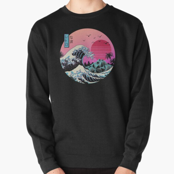 The Great Retro Wave Pullover Sweatshirt