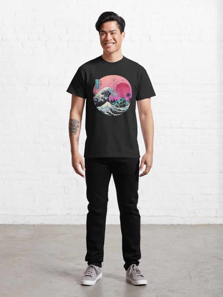 Alternate view of The Great Retro Wave Classic T-Shirt