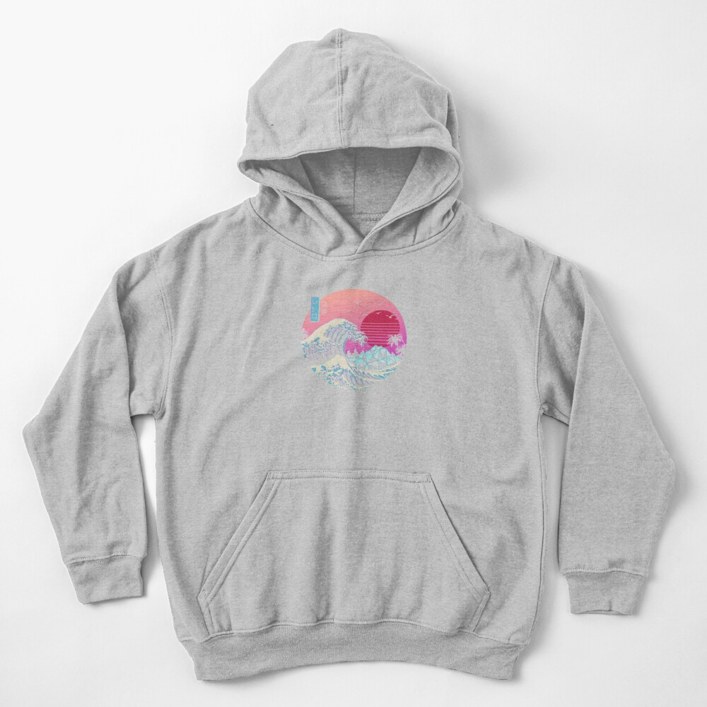 The Great Retro Wave Kids Pullover Hoodie