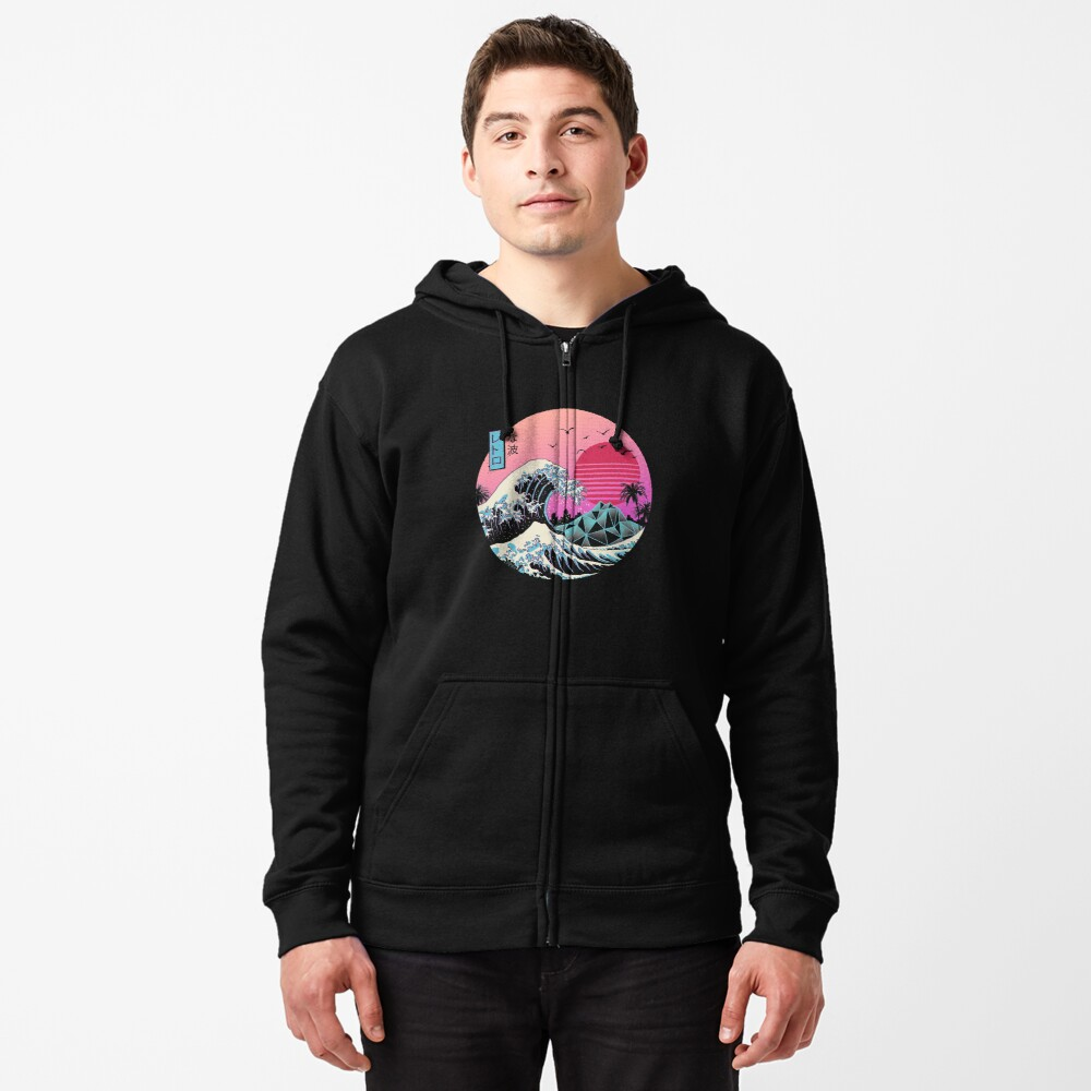 The Great Retro Wave Zipped Hoodie