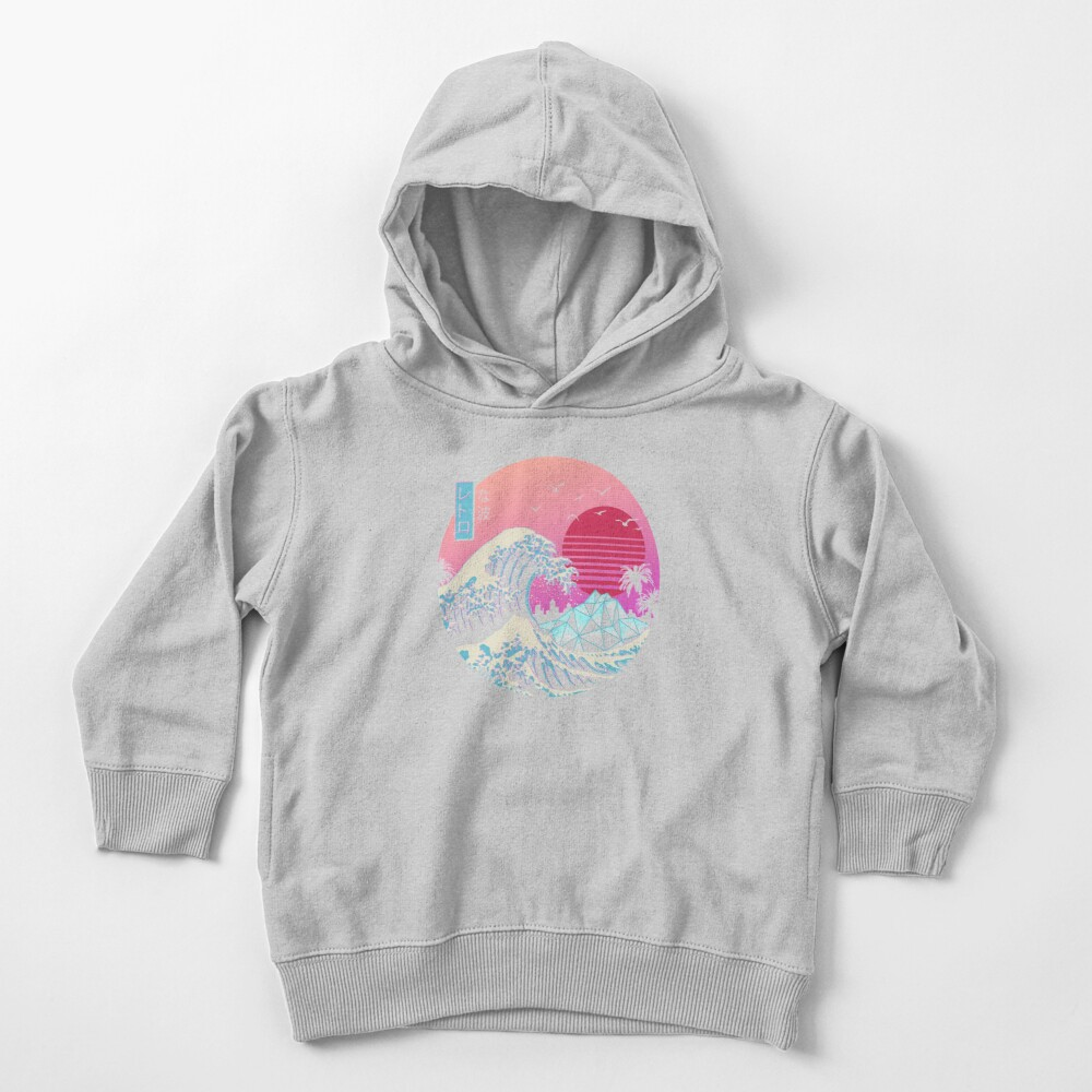 The Great Retro Wave Toddler Pullover Hoodie