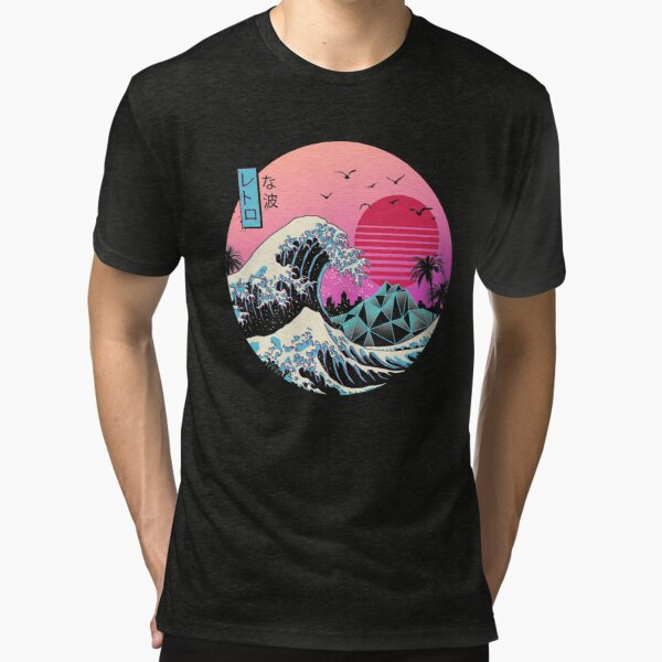 The Great Retro Wave Tri-blend T-Shirt