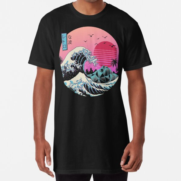 The Great Retro Wave Long T-Shirt